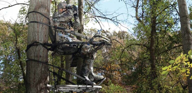 Light Climbing Tree Stand