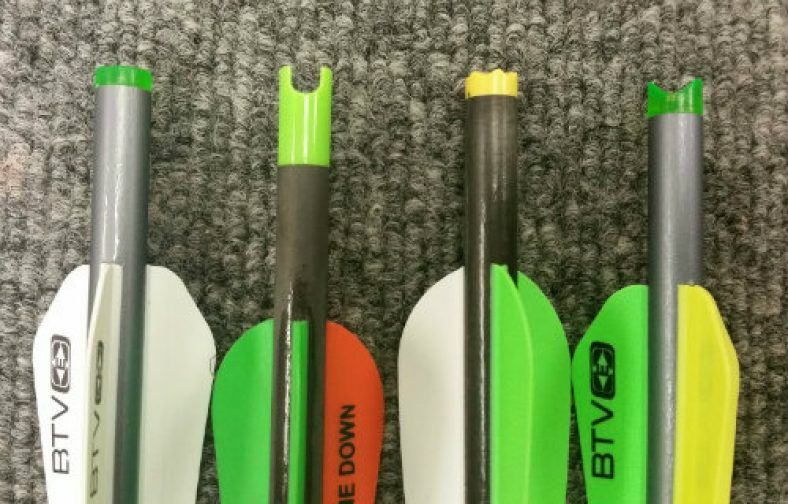 Crossbow Bolt Nock Types