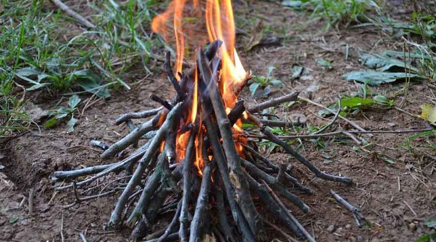 A Teepee Fire Shape900*500