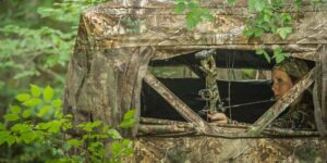 Ground Blind For Bowhunting800*400